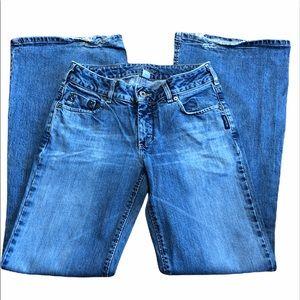 Vintage Silver Jeans Flared Leg